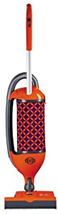 SEBO 9803AM Felix 1 Premium Fun Upright Vacuum with Parquet, Orange/Purple