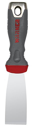 Warner 90661 ProGrip 1-1/2-Inch Stainless Steel Stiff Putty Knife Hammer Cap