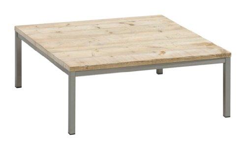 Bony-Design-Couchtisch-Edelstahl-Bauholz-Quadrtisch-36--90--90