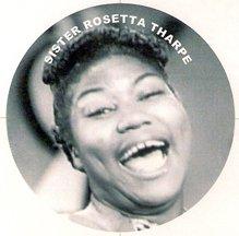 Exuberant Sister Rosetta Tharpe Pin