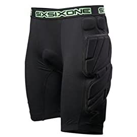 SixSixOne 2011 Elite Bomber Bike Body Armour Under Shorts