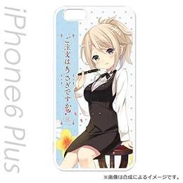 ハクバ iPhone6s Plus / iPhone6 Plus用ケース ご注文はうさぎですか?  青山 ブルーマウンテンCHARAMODE(キャラモード) はめるタイプのスマホカバー PCM-IP6P7108
