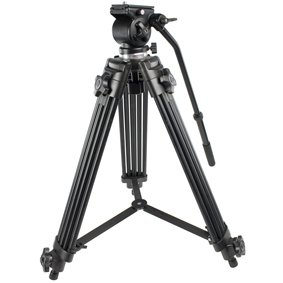 KÖNIG PROFESSIONAL CAMCORDER TRIPOD 1.5M METER (Please note we are unable to ship this order to Worldwide)