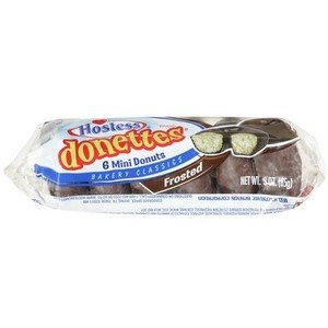 Hostess Donettes Crumb Mini Donuts 16 oz.