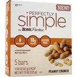 Perfectly Simple Bar Peanut Crunch 5 Bars [Pack Of 2]