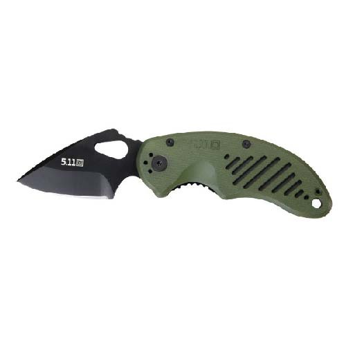 5.11 Tactical 51057C-999-1 SZ DRT Folding Knife - Plain Edge