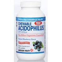 American Health - Acidophilus Chewable With Bifidus