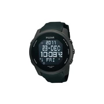 Pulsar World Time Alarm Chronograph Men's watch #PQ2011