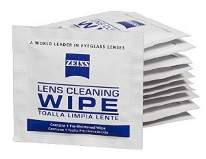 50 Ct - Zeiss Pre-Moistened Lens Cleaning Cloths for Cameras, Microscopes, Glasses (Camera Lenses Cleaner compare prices)