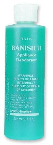 Banish Ii Liquid Deodorant 1.25 oz. Refillable Bottle/Qty 12