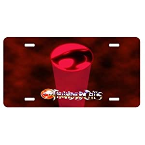 Thunder Cats Sign on Thundercats License Plate Sign 6   X 12   New Quality Aluminum