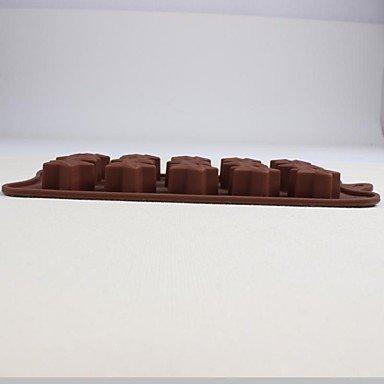 LLsai 15 Stars Silicone Mold Chocolate Ice Sugar Craft Cake Mould Tools