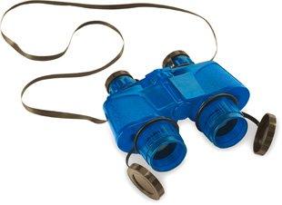 Safari 621216 Blue Translucent Binoculars With Vinyl Case - Pack Of 2