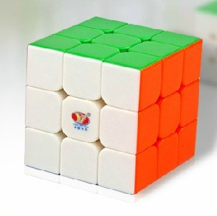MoYu MY YL YJ Moyu Yulong Smooth Stickerless Speed Cube Puzzle, 3x3-Inches