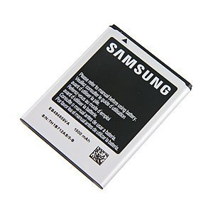 Samsung Original OEM Samsung EB484659VA 1500mAh Spare Replacement Li-ion Battery for Samsung Gravity Smart and Gravity Touch 2 - Battery - Non-Retail Packaging - Silver (Samsung Transform Ultra compare prices)