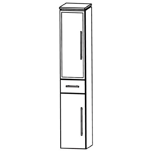 Cool Puris Line (HNA053B5ML / R Tall Cupboard Bathroom Cupboard 30 CM