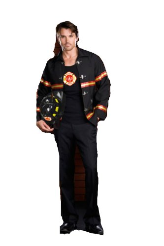 Smokin Hot Fire Dept Male Xl Adult Mens Costume