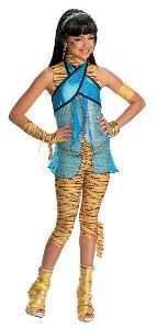 Monster High - Cleo De Nile Child Costume Size 12-14 Large