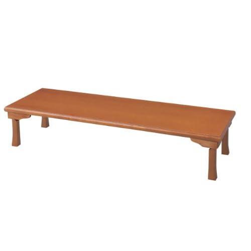 テーブル 座卓(折脚) TWZ-C1860-BR W1800×D600×H345