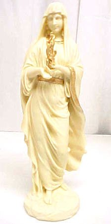 Greek Goddess Hestia Statue Hearth Home Vesta