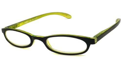 NVU Eyewear Half Readers (Women) Reading Glasses - F Train Black / F TRAIN BLACK +1.75