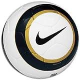Nike Premier Team Soccer Ball, White/Black/Gold - Size 5