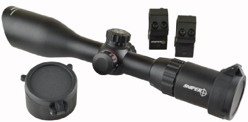 SNIPER Compact Scope LT3-12X40ML  Rings and Flip-up