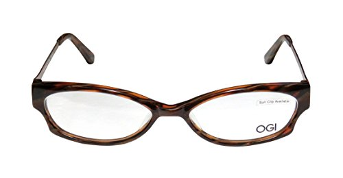ogi-3105-womens-ladies-ophthalmic-comfortable-designer-full-rim-eyeglasses-eyewear-54-16-135-brown-m