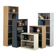 Safco Products Company Products - 6 Shelf Bookcase, 31-3/4