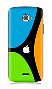 InFocus M350 3Dimensional High Quality Designer Back Cover by 7C