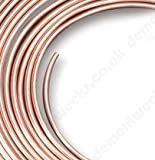 Clarik 8Mm X 1.5Mtr Soft 22G Easy Flare Copper Fuel Pipe