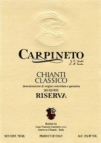 Carpineto Chianti Classico Riserva 2005 750Ml