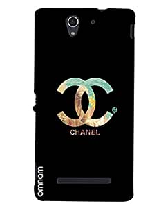 Omnam Channel Logo Printed Designer Back Cover Case For Sony Xperia C3