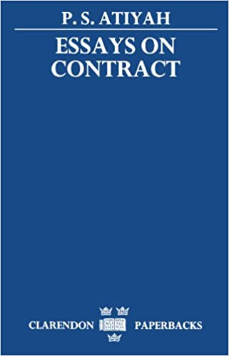 essay contract