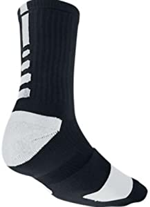 Nike Elite Performance Sock - Black/White Large