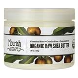 Nourish Organic Raw Shea Butter Intensive Moisturizer 5.5 Oz