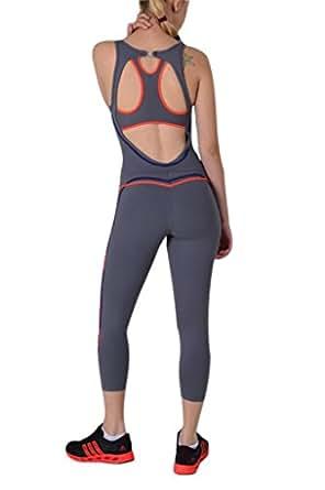 Amazing Women39s Jumpsuit Brazilian Supplex Fitness Clothing Fashion Onesie Red