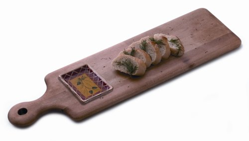 J.K. Adams 20-Inch-By-6-Inch Maple Wood Artisan Bread And Oil Plank, 2-Piece Set