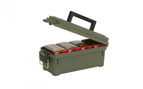 купить Plano Field Box Shot Shell Box Shotgun Shell Case OD Green Hard 13.6X5.6X5.6 121202 недорого