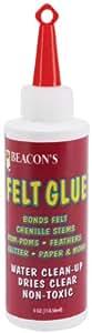 Beacon Adhesives Felt Glue, 4-Ounce
