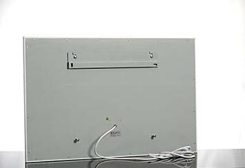 infrarotheizung 650 watt elektroheizung nachtspeicher weiss dc831. Black Bedroom Furniture Sets. Home Design Ideas