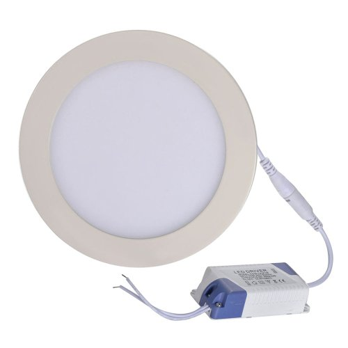 Mudder 12W 2835 Smd Led Warm White Light Round Recessed Ceiling Panel Down Light Lamp