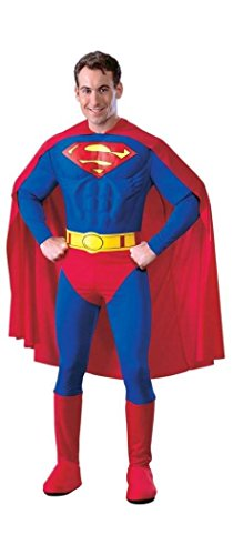 Rubie's Costume Co - Superman Adult Muscle Dlx