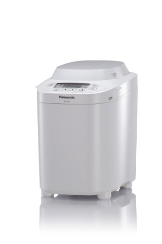 Panasonic SD-2501 WXC Automatic Breadmaker with Nut  &  Raisin Dispenser  &  Gluten Free Program, White