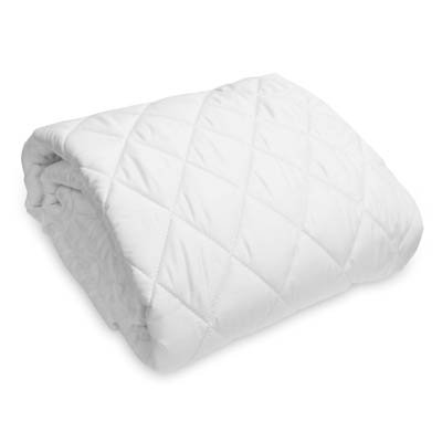 Natura Washable Wool Fitted Mattress Pad, Queen