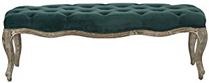 Safavieh Mercer Collection Ramsey Bench, Marine
