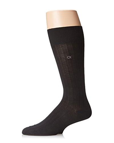 Calvin Klein Men's Tech Heat Rib Crew Sock