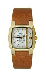 Diesel Analog Three-Hand Leather - Brown Women's watch #DZ5296
