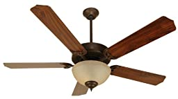 Craftmade K10626, Pro Builder 202 C202AG Ceiling Fan in Aged Bronze Textured with 52\
