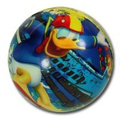"Donald Duck 3"" Bounce Foam Ball - 1"